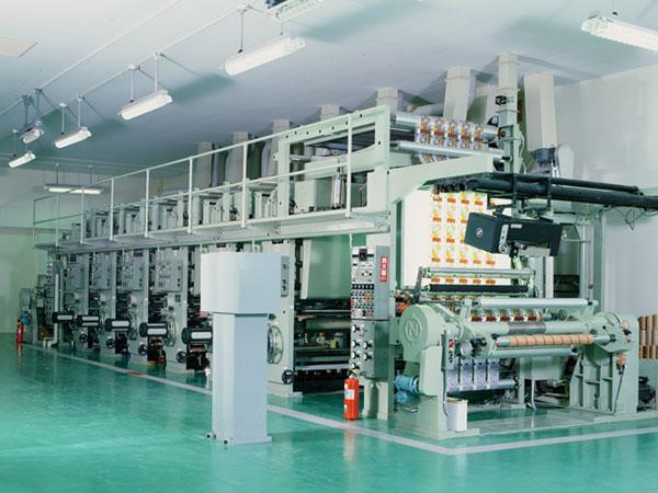 信和工業 グラビア6色印刷機 有効印刷巾 1300mm