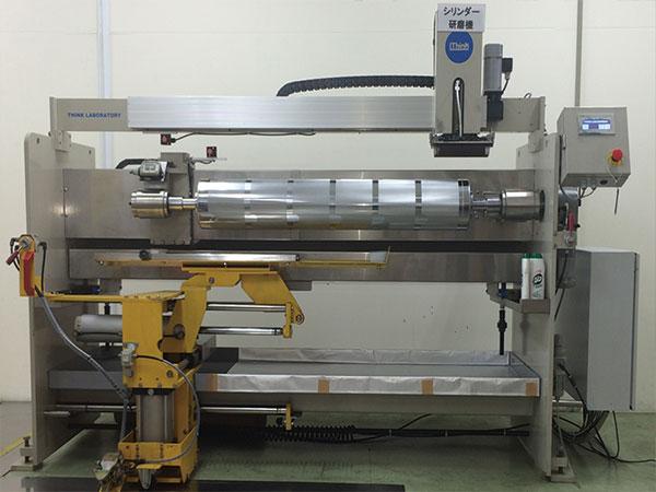 信和工業 シリンダー研磨機導入